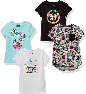 Marca Amazon - Spotted Zebra Star Wars 4-pack Short-sleeve T-shirts - fashion-t-shirts Niñas