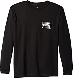 Rounder Long Sleeve Screen Tee (Big Kids)