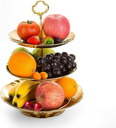 4a5170e111 Amazon.com: Ceramic - Fruit Plates / Specialty Plates: Home & Kitchen