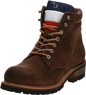 Tommy Hilfiger Suede Lace Up Men's Men Boots