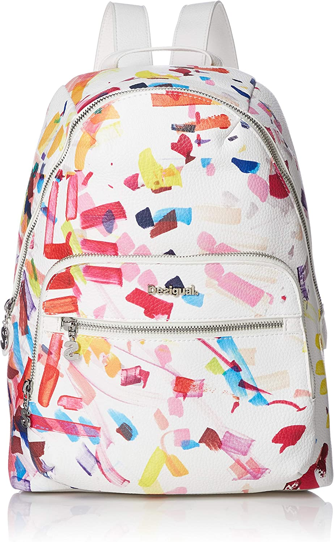 Desigual Woman backpack bols rep white confetti lima 18waxpxm uni white