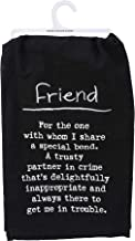 Primitives by Kathy Kitchen Embroidered Dish Towel - Definition: Friend
