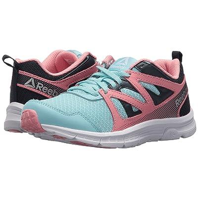 Reebok Kids Run Supreme 2.0 (Little Kid/Big Kid) (Blue Lagoon/Collegiate Navy/Squad Pink) Girls Shoes