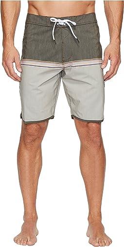 VISSLA - Dredges Four-Way Stretch Boardshorts 20