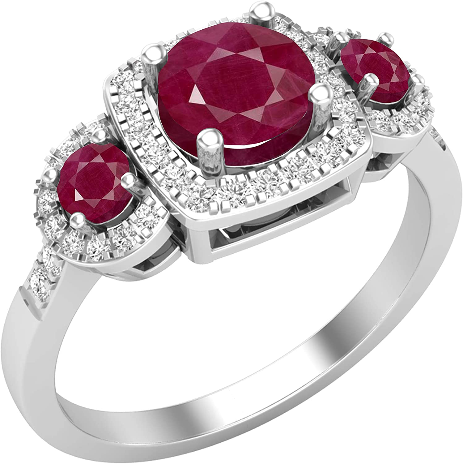Dazzlingrock Collection Round Gemstone Colorado Springs Mall White Ladies Diamond Spring new work one after another 3