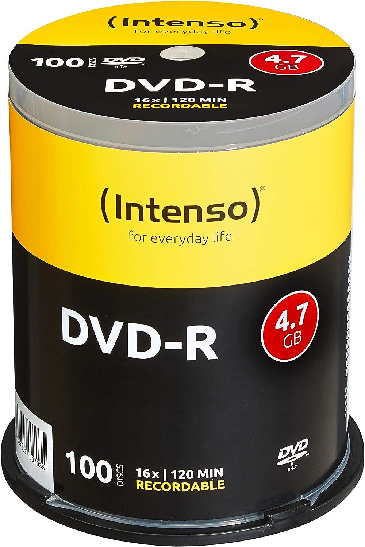 Intenso Dvd R 16x Speed 4 7gb Computer Zubehör