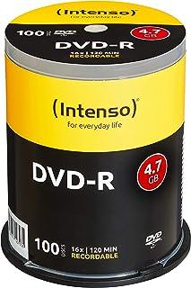 Intenso DVD-R 4,7GB 16x Speed, Confezione da 100