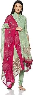 BIBA Women's Asymmetrical Hemline Salwar Suit Set