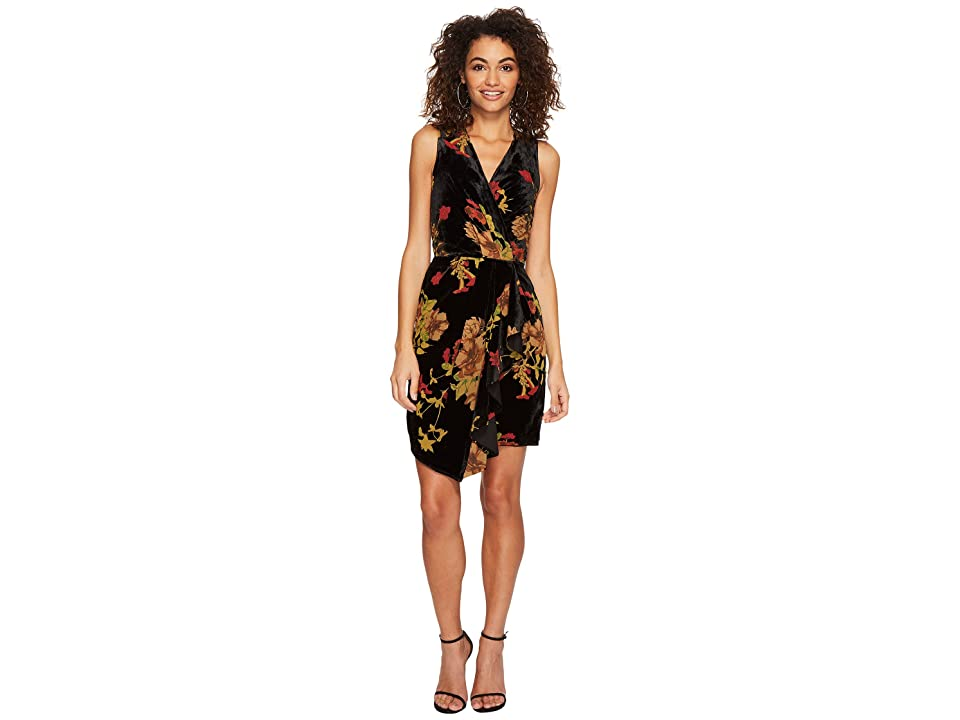Adelyn Rae Alyse Sheath Dress (Black Multi) Women