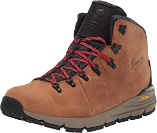 """Danner Mountain 600 4.5"""" Brown/Red 200G mens Hiking Boot"""