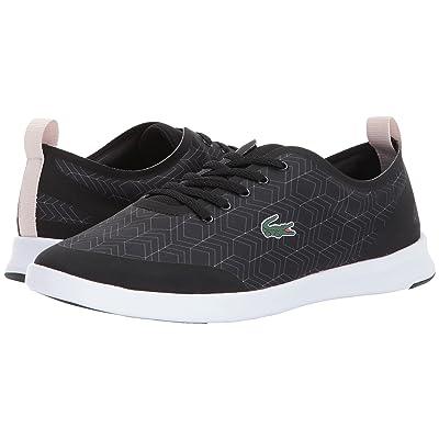 a56c9b792 Lacoste Avenir 417 2 (Black) Women's Shoes