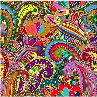 Bgraamiens Puzzle-Flower Dance-1000 Pieces Rich Color Flowers Jigsaw Puzzles