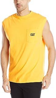 Caterpillar Men's Trademark Sleeveless Pocket T-shirt