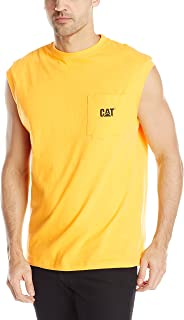 Men's Trademark Sleeveless Pocket T-Shirt