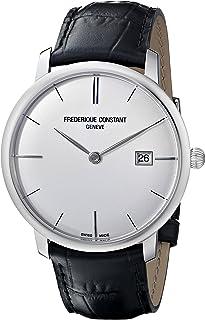 Frederique Constant Men's FC306S4S6 Slim Line Slim Line Mens Silver Dial Automatic Watch