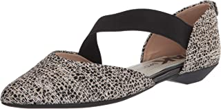 Anne Klein Women's Outer Mary Jane Flat, METALLIC NATURAL