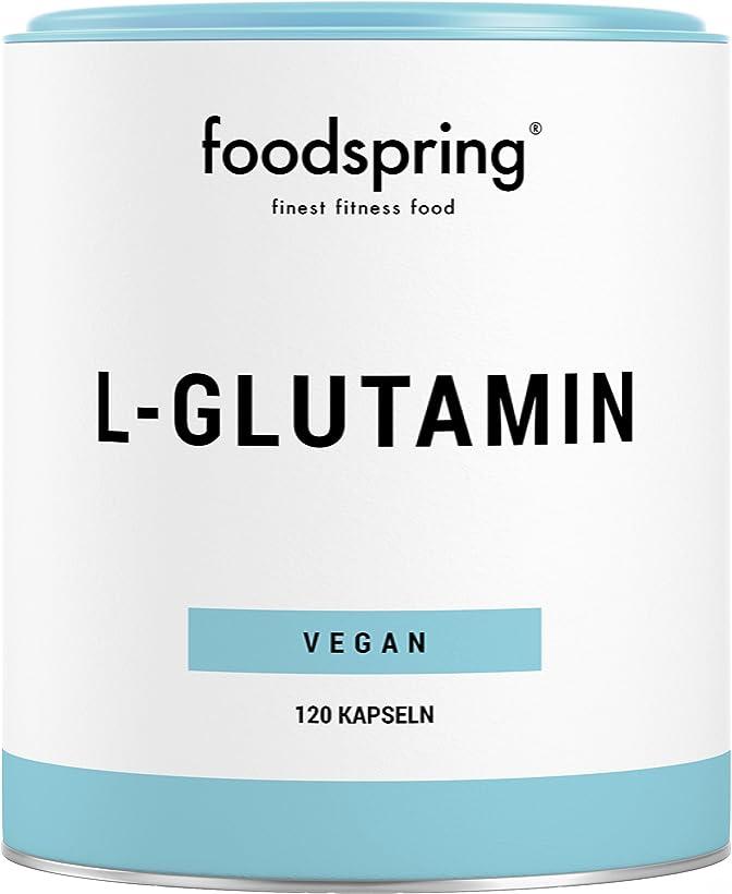 L-glutammina foodspring , 120 capsule, specialista della rigenerazione e010