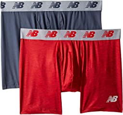 "NB Premium Performance 6"" Boxer Brief 2-Pack"