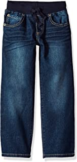 Gymboree Boys' Toddler Pull-on Straight Jeans
