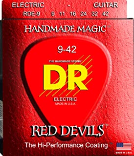 DR Strings Red Devils - Extra-Life Red Coated Electric 9-42