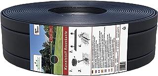Replast Bordure de gazon, en plastique, 25m, idéale pour le jardin (125mm/4mm)