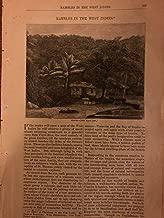 1871 West Indies St. Lucia Monos Pitch Lake Port of Spain St. Eustatius