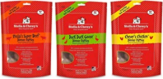 Stella & Chewy's Freeze Dried Patties 25oz Variety Pack(Beef, Chicken and Duck)