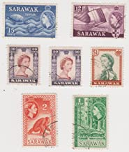 stamp Cancelled Postage of Sarawak