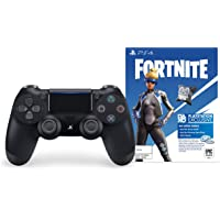 Sony DualShock 4 Wireless Controller for Sony PlayStation 4 Fortnite Neo Versa Bundle (Jet Black)