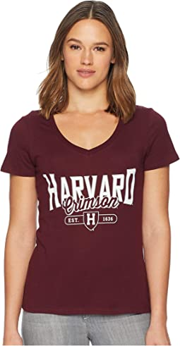 Harvard Crimson University V-Neck Tee