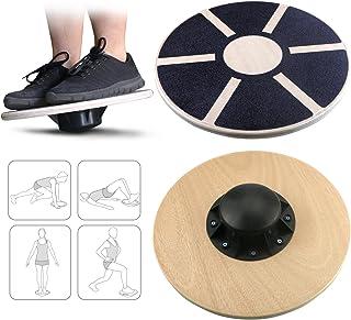 comprar comparacion Gifort Balance Board Table de Equilibrio 39.5cm - Plataforma Tablero Equilibrio Coordinaci¨®n Entrenamiento Fitness Wobble...