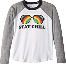 Extra Soft Jersey Stay Cool Baseball Tee (Little Kids/Big Kids)