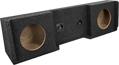 """Bbox A152-12CP Dual 12"""" Sealed Subwoofer Enclosure Fits 1999-2007 Chevrolet/GMC.."""