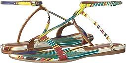 Ikat Flat Sandal