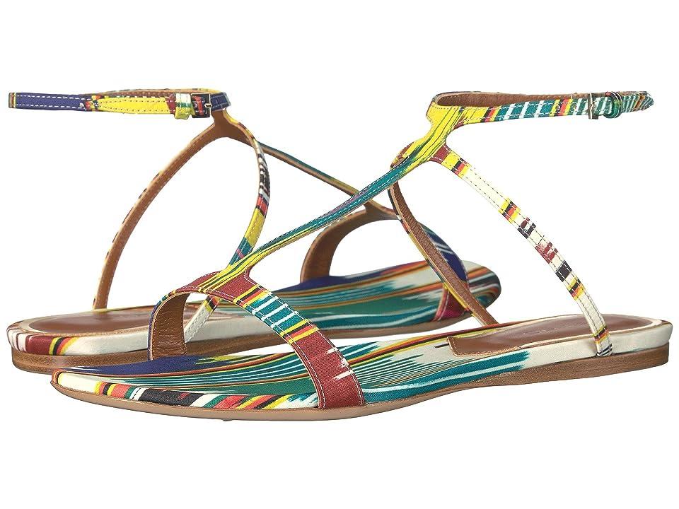 Etro Ikat Flat Sandal (Multi) Women