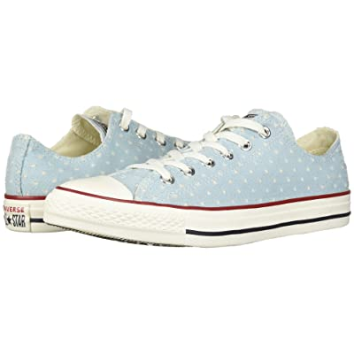 Converse Chuck Taylor(r) All Star(r) Ox Perf Stars (Ocean Bliss/Garnet/Athletic Navy) Classic Shoes