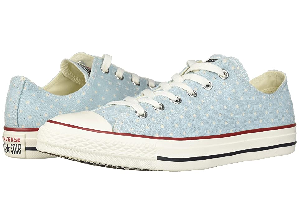 Converse Chuck Taylor(r) All Star(r) Ox Perf Stars (Ocean Bliss/Garnet/Athletic Navy) Classic Shoes