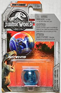 MATCHBOX 2018 JURASSIC WORLD GYROSPHERE BLUE