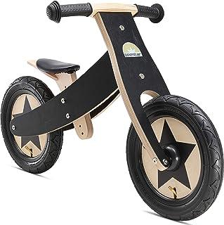 BIKESTAR Bicicleta sin Pedales para niños y niñas | Bici Madera 12 Pulgadas a Partir de 3-4 años | 12