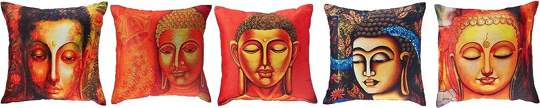 Panache Exports Cushion Covers, Multi-Colour, 45 x 45 cm, PECUSCVR41