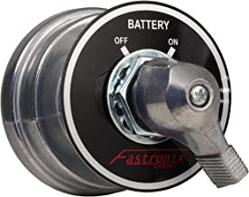 Fastronix 2 Post High Current Master Battery Disconnect Switch with Face Plate