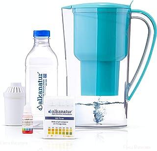 Jarra Alkanatur Drops. Alcaliniza, depura e ioniza agua. pH