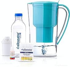 Jarra Alkanatur Drops para alcalinizar, depurar e ionizar agua. pH hasta 9,5. ORP - 700mV. Libre de Bisphenol A. Costo por litro 0,045€. Duración filtro 400L. Made in Spain.