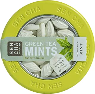 Sencha Naturals Green Tea Mints, Moroccan Mint, 1.2-Ounce Canister