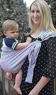 Lite-on-Shoulder Baby Sling (Pink Gradation)