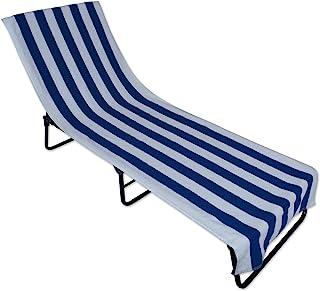 J & M Home Fashions Toalla para Silla de Playa, con