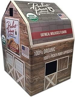 Wet Noses Pocket Pony Horse Treats, Made in USA, 100% Organic Human Grade, Grain Free, Gluten Free, 44 Oz Box