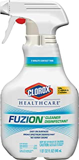 Clorox Healthcare Fuzion  Cleaner Disinfectant, Spray, 32 Ounce Spray Bottle (31478)