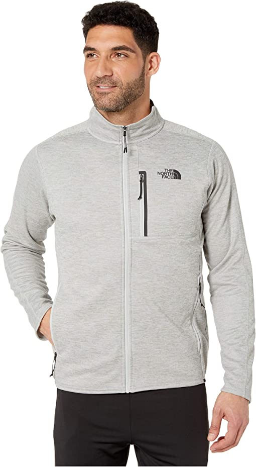 TNF Medium Grey Heather 3