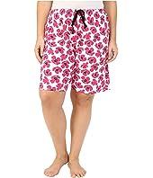 Jockey - Plus Size Printed Bermuda Shorts